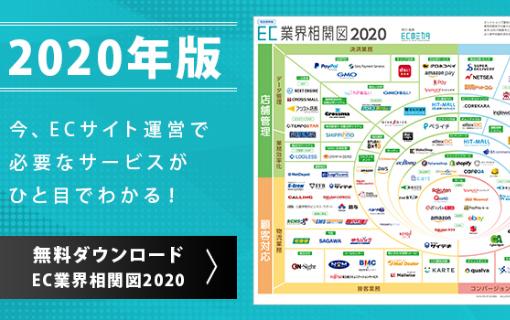 EC業界相関図2020